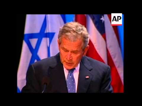 President Bush Wishes Israel A Happy 60th Birthday, Saying The United States Is The Nation's Oldest