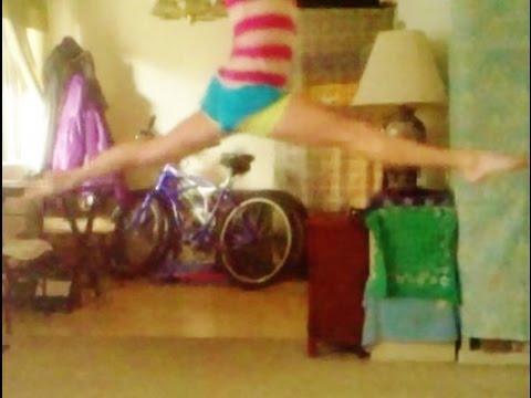 How To Do A Split Jump For Gymnastics With Coach Meggin!