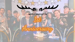 Musicpreneur 1st Anniversary Highlighted