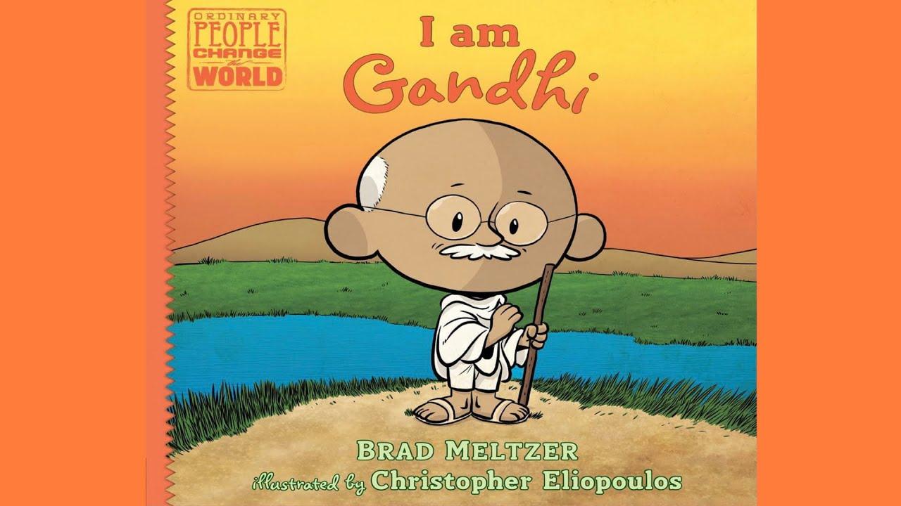 Download 📚 Read Aloud   I Am Gandhi by Brad Meltzer   CozyTimeTales