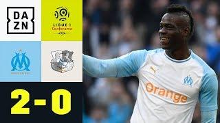 Mario Balotelli trifft erneut: Olympique Marseille - Amiens 2:0   Ligue 1   DAZN Highlights