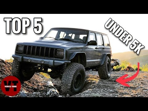 TOP 5 BEST OFFROAD VEHICLES UNDER 5K!
