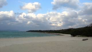 竹富島のコンドイ浜 beach in Taketomi Island,Okinawa Prefecture