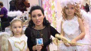 Театр моды ''Афродита''в одежде ''Kinder mix'' на свадебной выставке Ренуар