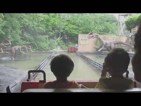Columbus Zoo - Dinosaur Island rid