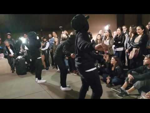 Les Twins Laurent W/ Art Of Teknique In SF