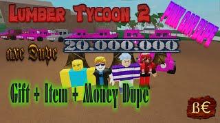 Lumber Tycoon 2 ♦ Money ♦ Pink Car ♦ Item ♦ Gift Box ♦ Axe Replica ♦ Roblox