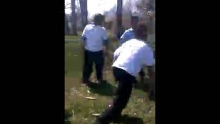 My bro got beat up