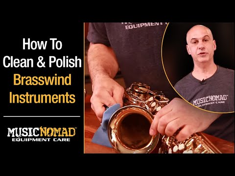 How to Clean & Polish Brasswind Lacquer Finish Instruments