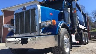 2005 Peterbilt 378 CAT 550hp, Tri-Axle Dump Truck, Dominic's Equipment Rental