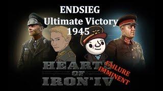 HoI4   Endsieg   1945 WW2 Germany - #7 Daniels Godlike Strike Force