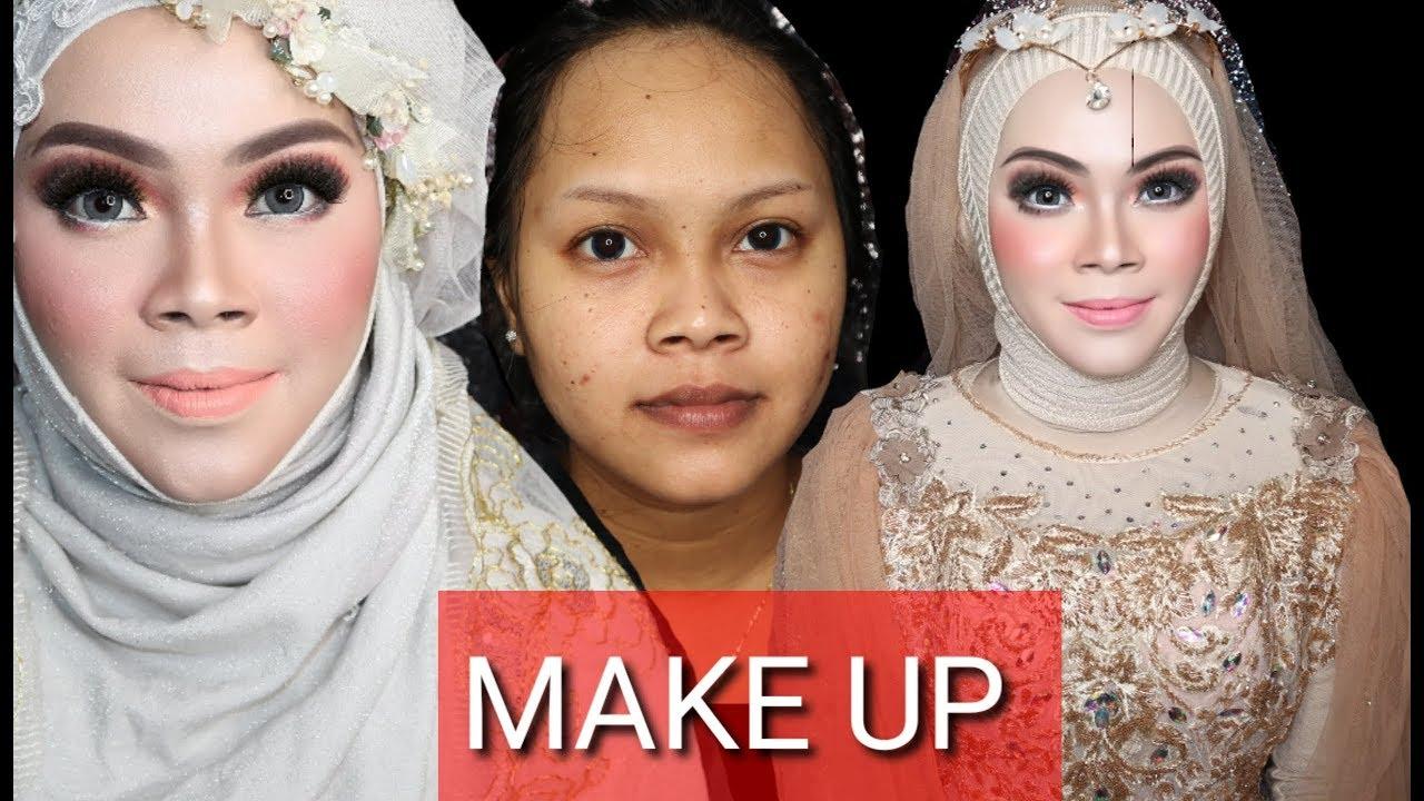 Tutorial Cara Menghapus Pidi Pengantin Jawatutorial Tutorial Make Up Pengantin Muslim