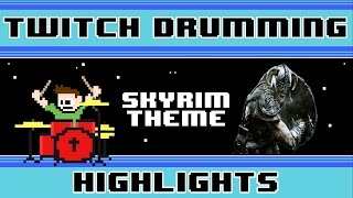 Elder Scrolls V: Skyrim - Dragonborn (Drum Cover) -- The8BitDrummer