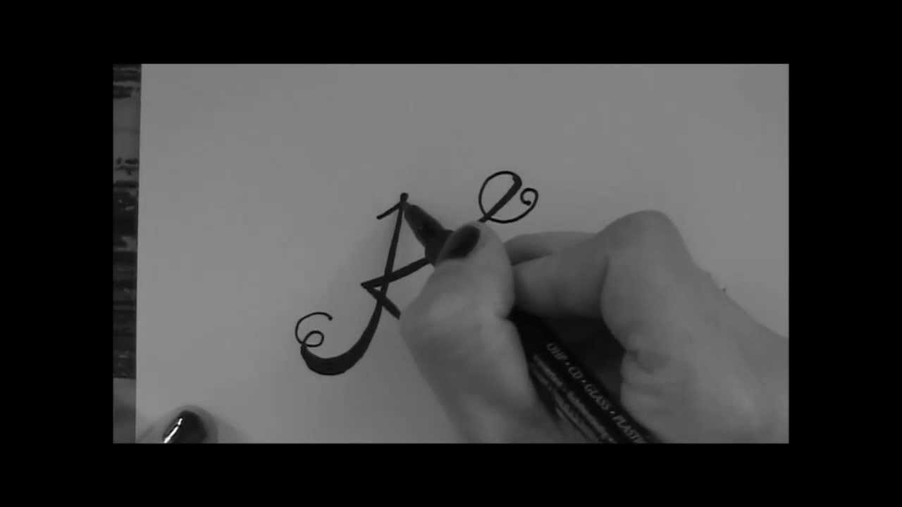 Cursive Fancy Letter How To Write Your Beautiful Letter K