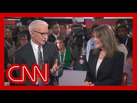 Watch Marianne Williamson's interview with Anderson Cooper
