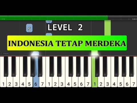 piano tutorial indonesia tetap merdeka - lagu wajib nasional