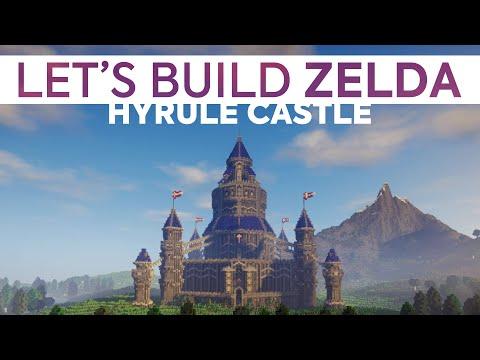 Hyrule Castle - Let's Build Zelda : Chapter 1 [Minecraft]