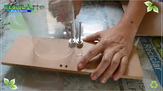 DIY♻CORTADOR DE BOTELLA PLASTICA/PLASTIC BOTTLE CUTTER