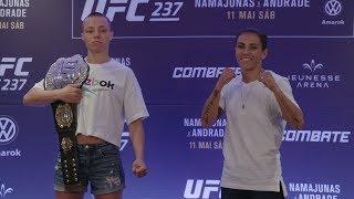UFC 237: Media Day Faceoffs