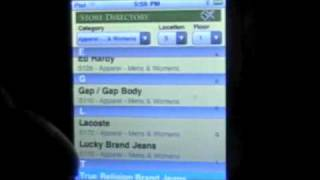 Mall Of America Directory iPhone