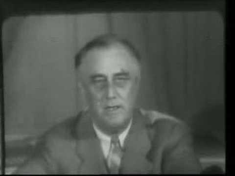FDR Warns of Fifth Column 1940/5/27