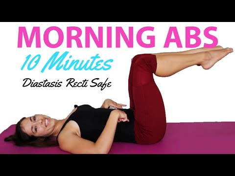 Morning Abs Workout Before Breakfast in 10 minutes | Postpartum safe Abs workout
