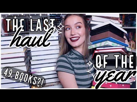 THE LAST BOOK HAUL OF THE DECADE (and year)