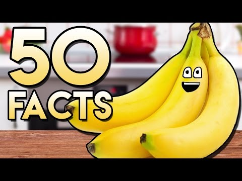 50 BANANARIFIC Facts You Probably Didn't Know About Bananas! (50 Facts)