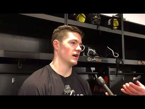 Ryan Donato, Boston Bruins rookie, adjusts to NHL on the fly with Stanley Cup playoffs approaching