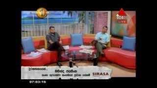 Sirasa Press Release Sirasa TV 20-10-2014
