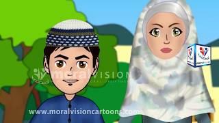 Ben Ezan Sırasında Konuşma -Abdul Bari Çizgi film/Animasyon - Arapça Versiyonu | İslami karikatürler
