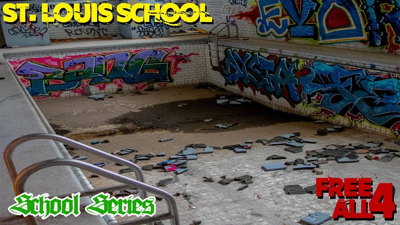 Exploring Abandoned Cleveland High School In St Louis
