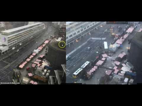 """Terror-LKW in Berlin - """"Webcambilder von vor und nachher"""""""