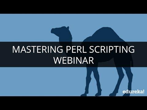 Mastering Perl Scripting | Webinar -1 | Edureka