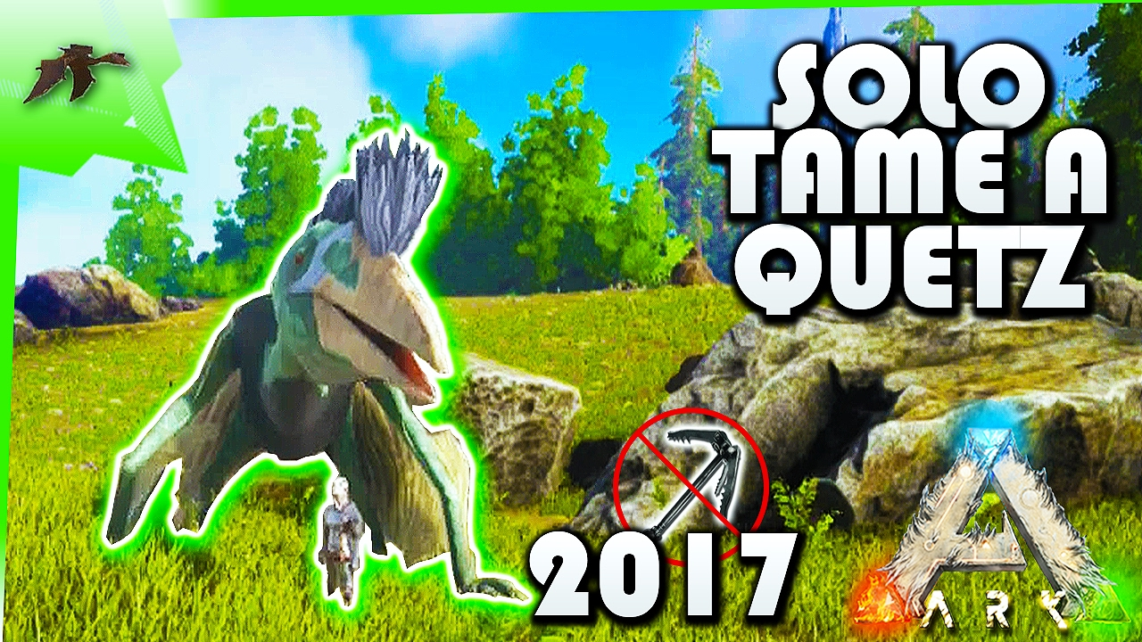 ark how to catch a quetzal solo