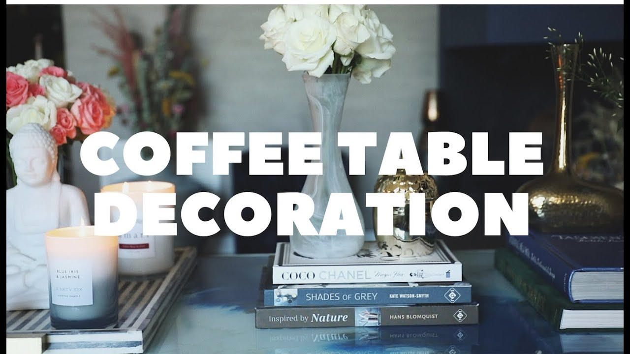 Coffee Table Decoration Spring Edition Youtube