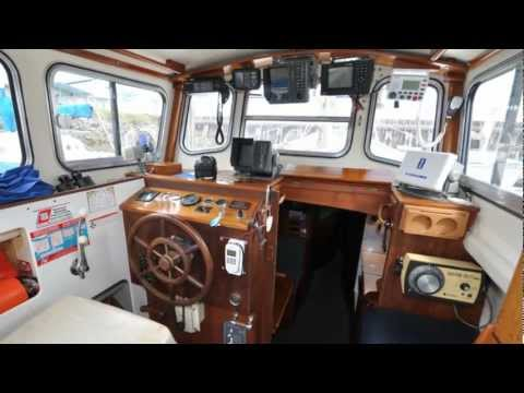 1972 (30ft.) Fisher Pilot House Motor Sailor