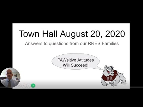 Rocky Run Elementary School's Town Hall Questions