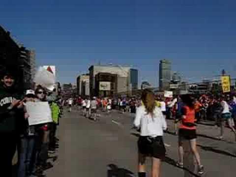Mom Running the Boston Marathon