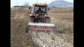 [Autowini.com] Korean new Farm Machinery - Fertilizer Spreader ILS-2200 for Tractor (IRIS-002)