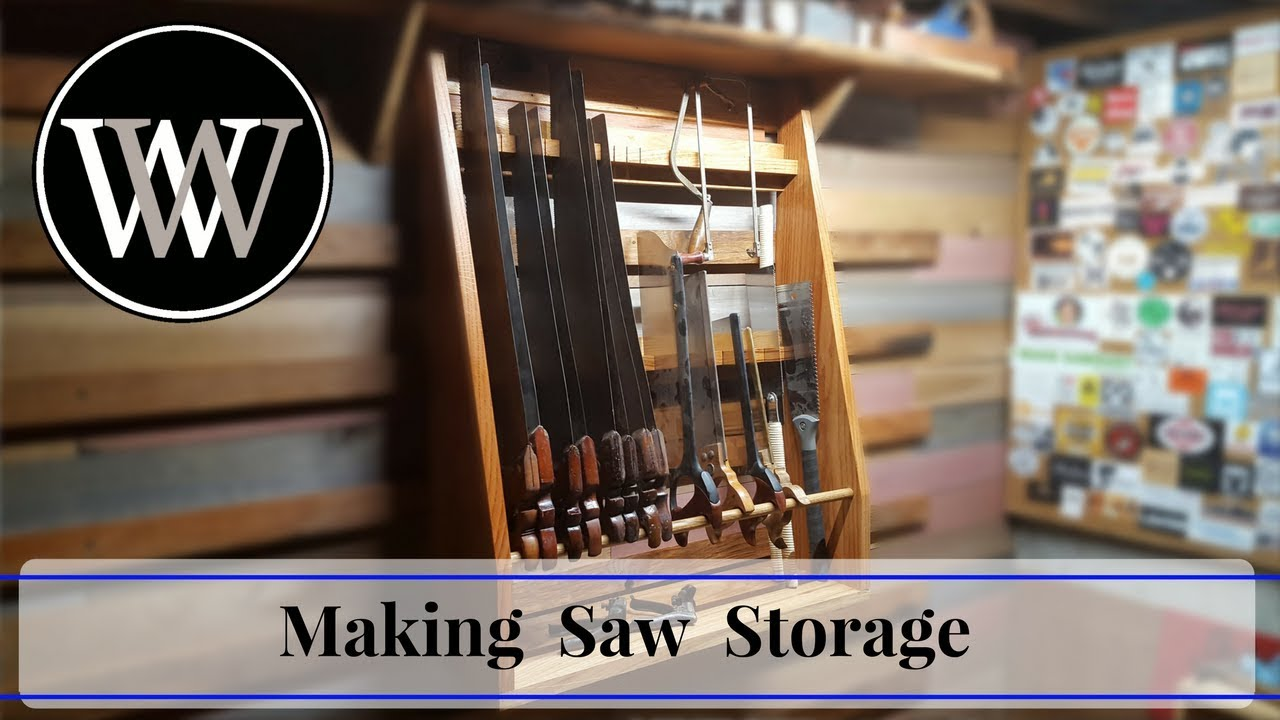 How To Make A Saw Till Hand Saw Storage Hand Tool Woodworking Project