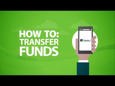 Funds Transfer on Fidelity Online Banking