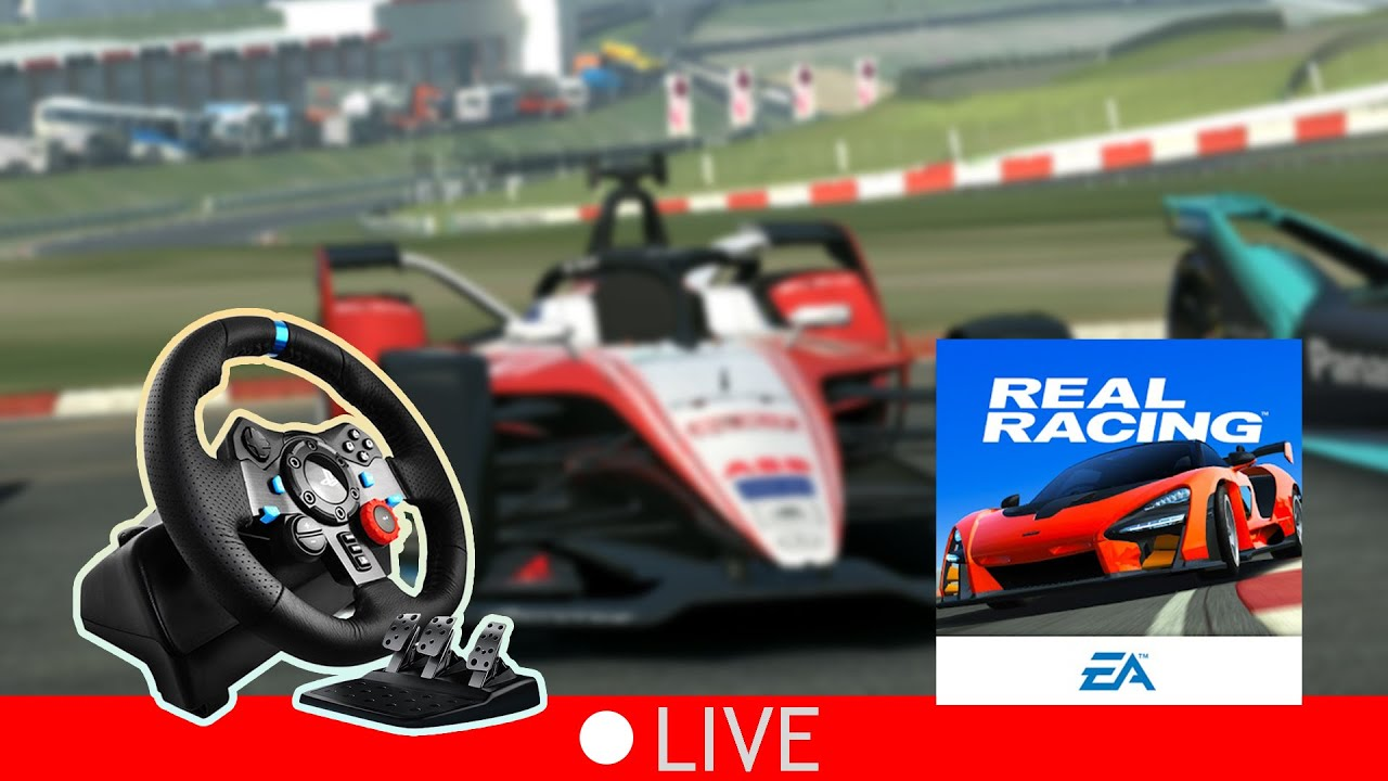 Real Racing 3 Android With Logitech G29 Steering Wheel #Shorts