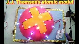 Okul projesi - J. J. Thomson atom modeli