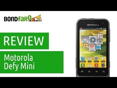 Motorola Defy Mini - Review