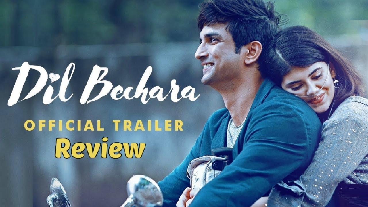 Dil Bechara Official Trailer Review   Sushant Singh Rajput Sanjana Sanghi  Mukesh Chhabra AR Rahman