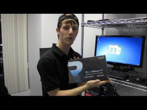 OCZ Revodrive X2 240GB PCIe SSD Drive Quick Test & Boot Up Linus Tech Tips