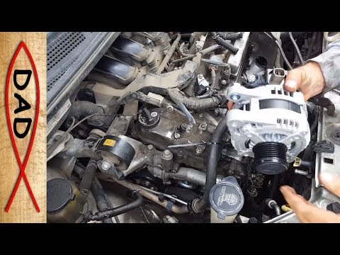 Easy Alternator Change For Toyota Sienna