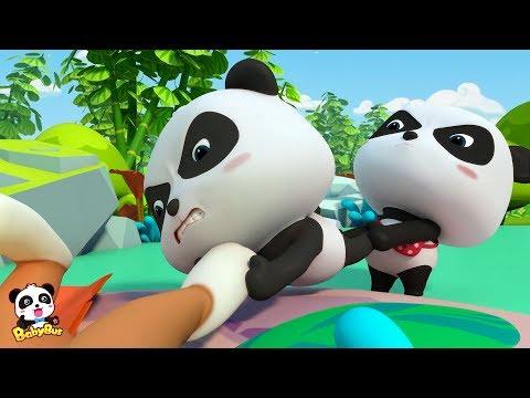 Baby Panda  Falls into Crystal Cave | Magical Chinese Characters | BabyBus