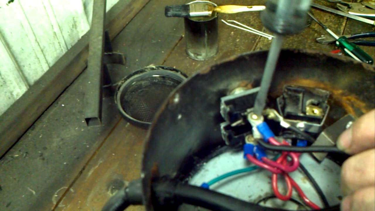 Putting the back motor into a K9 or Circuiteer dryer